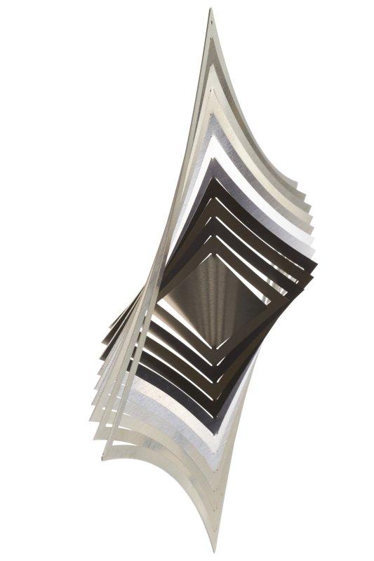 "A2001 - steel4you wind chime ""diamond"""