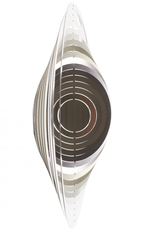 """A2002 - steel4you wind chime """"circle"""""""